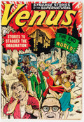 Golden Age (1938-1955):Science Fiction, Venus #11 (Timely, 1950) Condition: VG-....