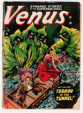 Golden Age (1938-1955):Horror, Venus #18 (Timely, 1952) Condition: FR....