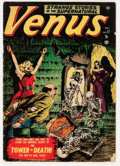 Golden Age (1938-1955):Horror, Venus #17 (Timely, 1951) Condition: GD/VG....