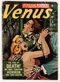 Golden Age (1938-1955):Horror, Venus #19 (Timely, 1952) Condition: FR/GD....
