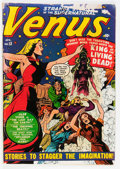 Golden Age (1938-1955):Horror, Venus #13 (Timely, 1951) Condition: GD....