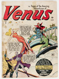 Golden Age (1938-1955):Horror, Venus #9 Canadian Edition (Timely, 1950) Condition: FR/GD....