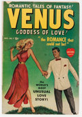 Golden Age (1938-1955):Romance, Venus #7 (Timely, 1949) Condition: VG+....
