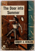 Books:Science Fiction & Fantasy, Robert A. Heinlein. The Door into Summer. Garden City:Doubleday, 1957. First edition, first printing. Publisher's c...
