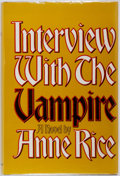 Books:Horror & Supernatural, Anne Rice. SIGNED. Interview with the Vampire. [Knopf,1976]. First book club edition. Signed by the author on pla...