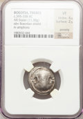 Ancients:Greek, Ancients: BOEOTIA. Thebes. Ca. 395-338 BC. AR stater (11.38 gm)....