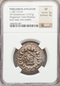 Ancients:Greek, Ancients: MYSIA. Pergamum. Ca. 180-133 BC. AR cistophoric tetradrachm (12.81 gm). ...