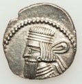 Ancients:Oriental, Ancients: PARTHIAN KINGDOM. Artabanus IV (ca. AD 10-38). AR drachm (3.42 gm)....