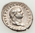Ancients:Roman Imperial, Ancients: Titus (AD 79-81). AR denarius (3.31 gm). ...