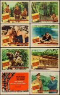 """Movie Posters:War, The Bridge on the River Kwai (Columbia, 1958). Lobby Card Set of 8(11"""" X 14""""). War.. ... (Total: 8 Items)"""