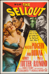 "The Sellout (MGM, 1952). One Sheet (27"" X 41""). Crime"
