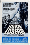 "Movie Posters:Exploitation, Born Losers (American International, 1967). One Sheet (27"" X 41"").Exploitation.. ..."