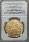 Colombia, Colombia: Ferdinand VII gold 8 Escudos 1813-JF,...