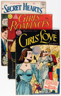 Golden Age (1938-1955):Romance, Comic Books - Assorted Golden Age Romance Comics Group (VariousPublishers, 1950s-'60s) Condition: VG/FN.... (Total: 15 ComicBooks)