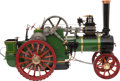 Paintings, LIVE STEAM SCALE MODEL ALLCHIN TRACTION ENGINE. 17 x 23 x 11-1/4 inches (43.2 x 58.5 x 28.6 cm). A finely engineered 1.8 sca...