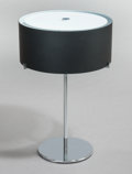 Lighting:Lamps, CHRISTIAN PLODERER (Austrian, b. 1956). CPL Table Lamp (Model T7), 2000. Chrome-plated metal with black blown glass diff... (Total: 2 Items)