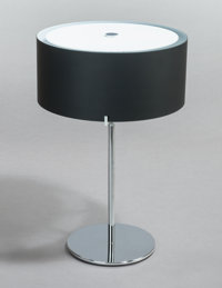 CHRISTIAN PLODERER (Austrian, b. 1956) CPL Table Lamp (Model T7), 2000 Chrome-plated metal with blac