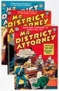 Silver Age (1956-1969):Adventure, Mr. District Attorney Group (DC, 1951-59) Condition: Average VG/FN.... (Total: 14 Comic Books)