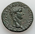 Ancients:Roman Imperial, Ancients: Claudius (AD 41-54). Orichalcum sestertius (30.10 gm)....