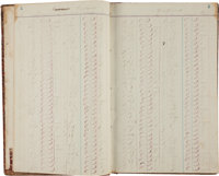 [Ranching]. Ledger of Cattle Sales