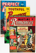 Golden Age (1938-1955):Romance, Comic Books - Assorted Golden Age Romance Comics Group (VariousPublishers, 1950s) Condition: Average VG/FN.... (Total: 25 ComicBooks)