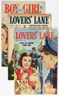 Golden Age (1938-1955):Romance, Lev Gleason Golden Age Romance Comics Group (Lev Gleason, 1951-52)Condition: Average FN.... (Total: 7 Comic Books)
