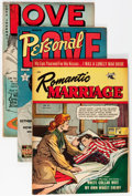 Golden Age (1938-1955):Romance, Comic Books - Assorted Golden and Silver Age Romance Comics Group(Various Publishers, 1950-60) Condition: Average FN.... (Total: 19Comic Books)