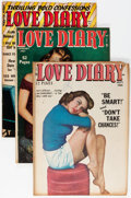 Golden Age (1938-1955):Romance, Love Diary Group (Our Publishing Co./Toytown/Patches, 1950-54)Condition: Average FN.... (Total: 4 Comic Books)