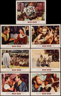 "Movie Posters:Academy Award Winners, Ben-Hur (MGM, 1959). Lobby Cards (7) (11"" X 14""). Academy AwardWinners.. ... (Total: 7 Items)"