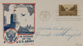 "Autographs:Military Figures, General Anthony C. ""Nuts"" McAuliffe First Day Cover Signed ""AC McAuliffe."" McAuliffe signs as ""General, US Army (ret..."