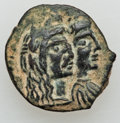Ancients:Greek, Ancients: NABATAEAN KINGDOM. Aretas IV and Shaqilat (9 BC-AD 40). Æ18mm (3.76 gm)....