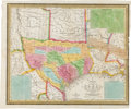 Miscellaneous:Maps, Samuel Augustus Mitchell. A New Map of Texas with the ContiguousAmerican & Mexican States, 1836 by J. H. Young...