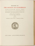 Books:Americana & American History, Richard Hoe Lawrence, editor. LIMITED. History of the Society ofIconophiles of the City of New York. Society of Ico...