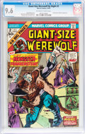 Bronze Age (1970-1979):Horror, Giant-Size Werewolf By Night #2 (Marvel, 1974) CGC NM+ 9.6Off-white to white pages....