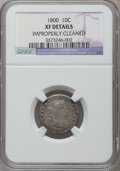 Early Dimes, 1800 10C -- Improperly Cleaned -- NGC Details. XF. JR-2, R.5....