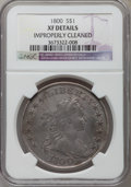 Early Dollars, 1800 $1 AMERICAI -- Improperly Cleaned -- NGC Details. XF. B-19,BB-192, R.2....
