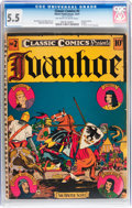 Golden Age (1938-1955):Classics Illustrated, Classic Comics #2 Ivanhoe - Original Edition (Gilberton, 1941) CGCFN- 5.5 Off-white to white pages....