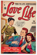 Golden Age (1938-1955):Romance, Love Life #1 (P. L. Publishers, 1951) Condition: FN/VF....