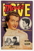 Golden Age (1938-1955):Non-Fiction, Movie Love #8 (Famous Funnies, 1951) Condition: FN....
