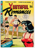 Golden Age (1938-1955):Romance, Youthful Romances #8 (Pix Parade, 1951) Condition: FN....