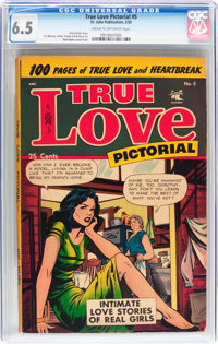 True Love Pictorial #5 (St. John, 1953) CGC FN+ 6.5 Cream to off-white pages