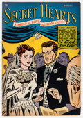 Golden Age (1938-1955):Romance, Secret Hearts #9 (DC, 1952) Condition: FN+....