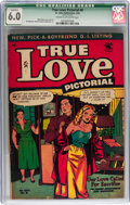 Golden Age (1938-1955):Romance, True Love Pictorial #8 (St. John, 1954) CGC Qualified FN 6.0 Creamto off-white pages....