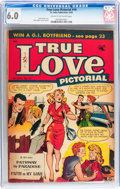 Golden Age (1938-1955):Romance, True Love Pictorial #10 (St. John, 1954) CGC FN 6.0 Cream tooff-white pages....