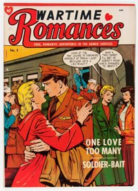Wartime Romances #3 (St. John, 1951) Condition: FN-