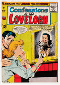 Silver Age (1956-1969):Romance, Confessions of the Lovelorn #81 (ACG, 1957) Condition: VF-....