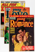 Golden Age (1938-1955):Romance, Comic Books - Assorted Golden Age Romance Comics Group (VariousPublishers, 1950-57) Condition: Average VG/FN.... (Total: 10 ComicBooks)