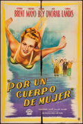 """Movie Posters:Comedy, Out of the Blue (Eagle Lion, 1947). Argentinean One Sheet (29"""" X 42.5""""). Comedy.. ..."""