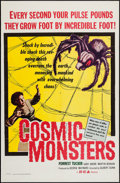 """Movie Posters:Science Fiction, Cosmic Monsters (DCA, 1958). One Sheet (27"""" X 41""""). ScienceFiction.. ..."""