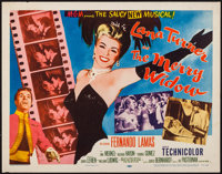"The Merry Widow (MGM, 1952). Half Sheet (22"" X 28"") Style A. Musical"